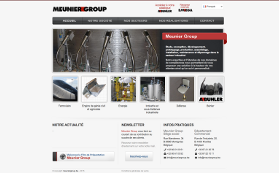 L'ancien site de Meunier Group